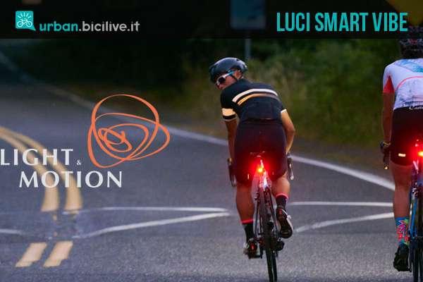 Luci bici smart Vibe di Light & Motion