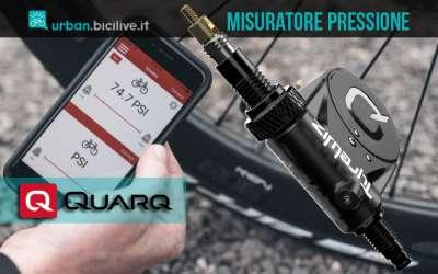 Quarq TyreWiz: misuratore pressione pneumatici bici in tempo reale