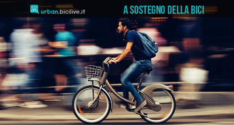 Unione Europea: crescono aiuti e incentivi all'utilizzo della bicicletta