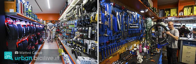 foto di interni del negozio the lab