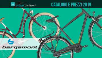 city bike dal catalogo e listino urban Bergamont 2019