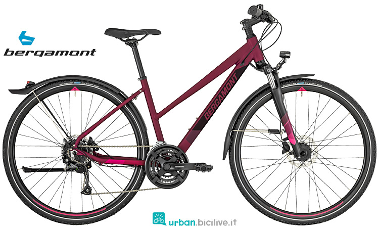 bici sportiva da donna Bergamont Helix 2019