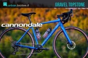 Bicicletta gravel Cannondale Topstone 2019