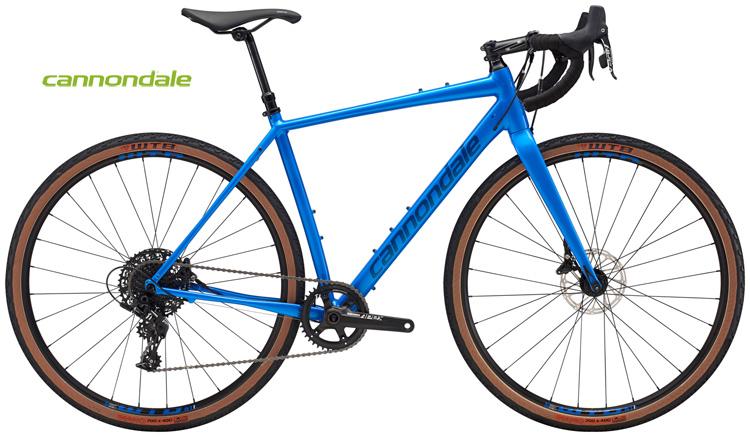Una bici gravel Cannondale Topstone Apex 1