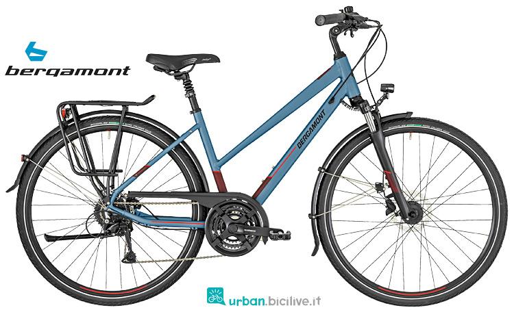 bici da viaggio da donna Bergamont Horizon 2019