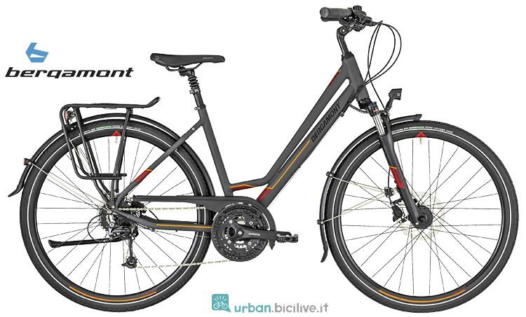 bici da donna ammortizzata da cittè Bergamont 2019