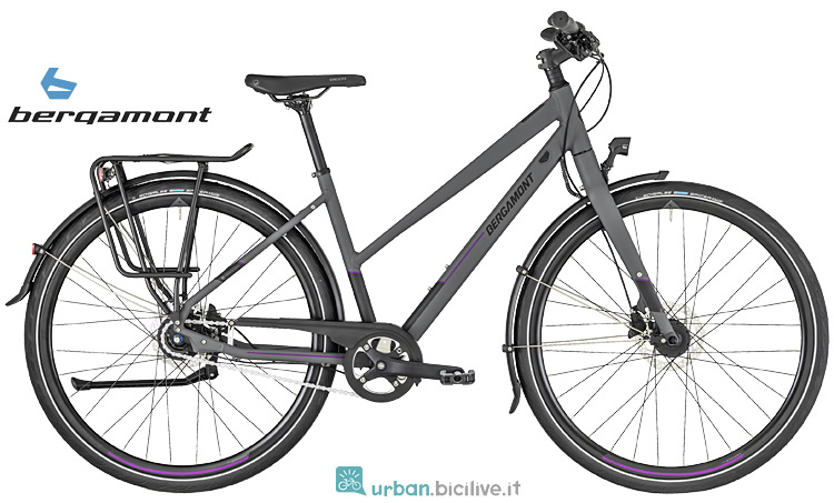 city bike da donna Bergamont Vitess N8 FH
