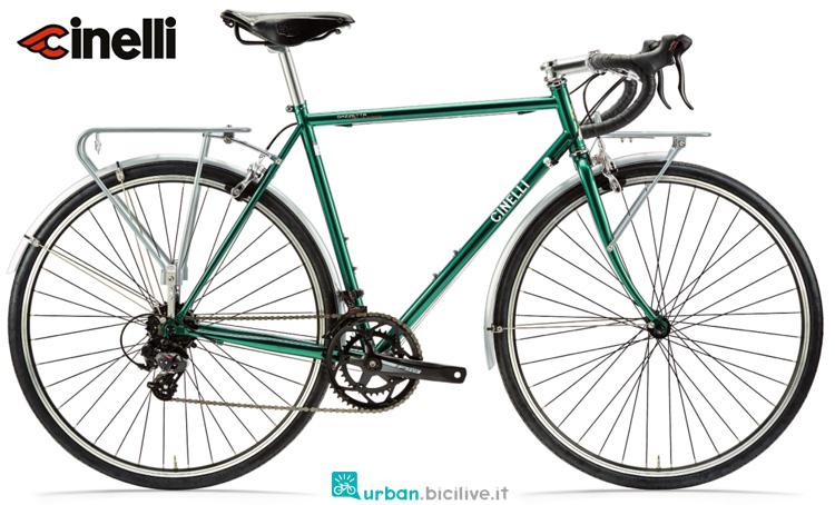 Una bici da città Cinelli Gazzetta della Strada 2019
