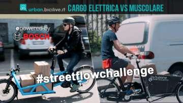 cargo bike elettrica e muscolare a confronto