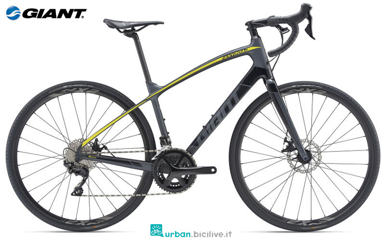 Una bicicletta Giant AnyRoad Advanced 1
