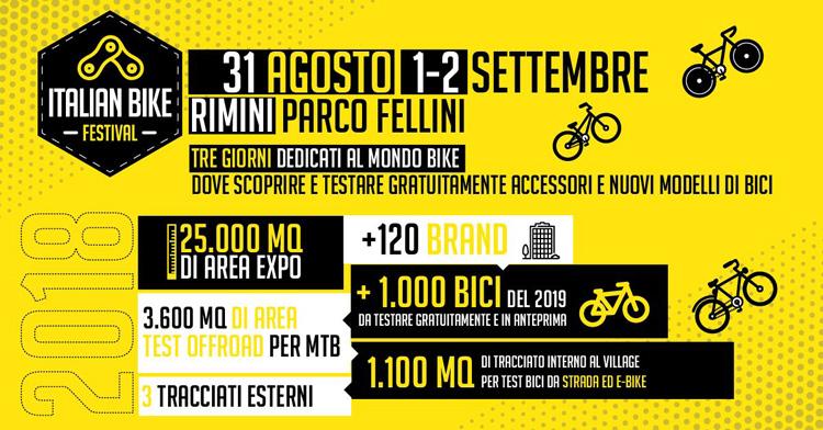 Il programma dell'Italian Bike Festival