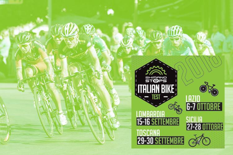 Le tappe dell'Italian Bike Test 2018