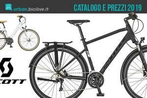 City bike dal catalogo e listino prezzi Scott 2019