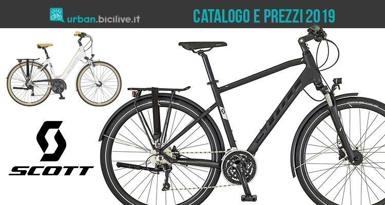 City bike dal catalogo e listino prezzi Scott 2019 7e9d6be6291