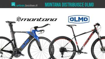 Montana distribuisce le biciclette Olmo