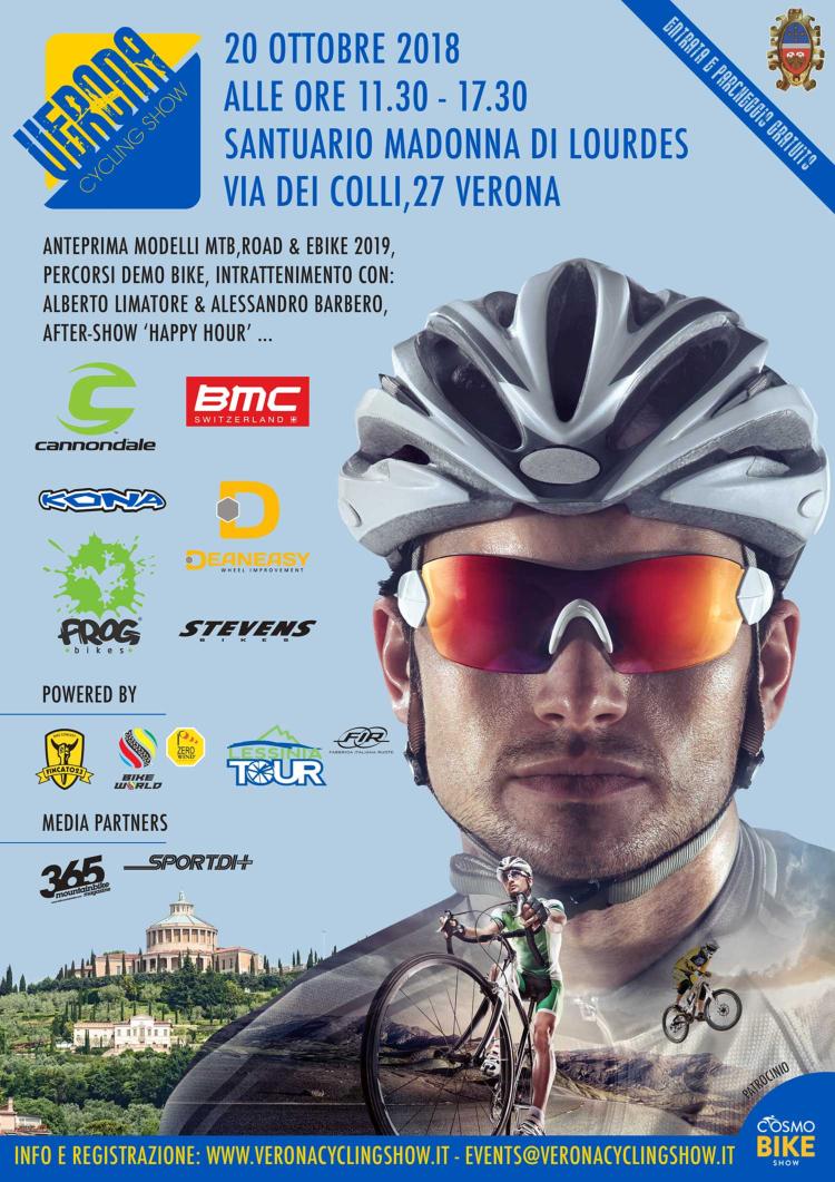 Verona Cycling Show 2018 programma