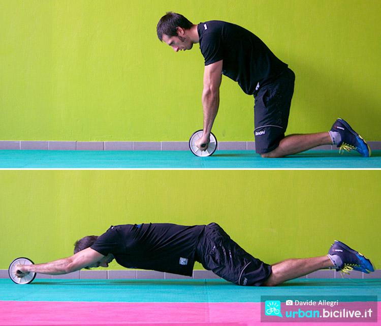 eserci con l'abwheel per perdere peso