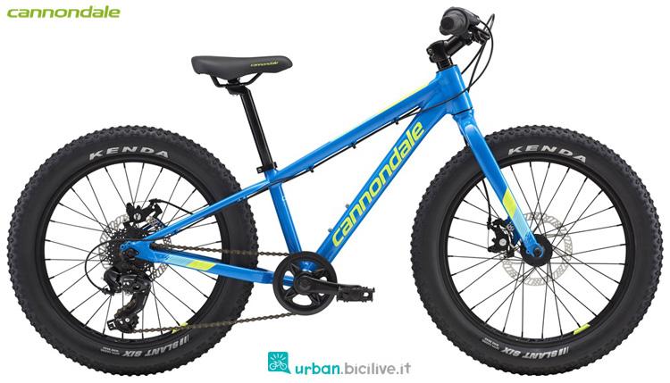 Una bicicletta da bambino Cannondale Kids Cujo 20