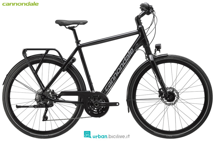 Una bici da città Cannondale Tesoro 1 anno 2019