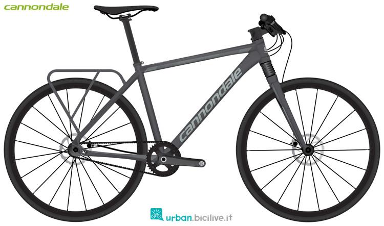 Una bicicletta urbana Cannondale Tesoro 2 anno 2019