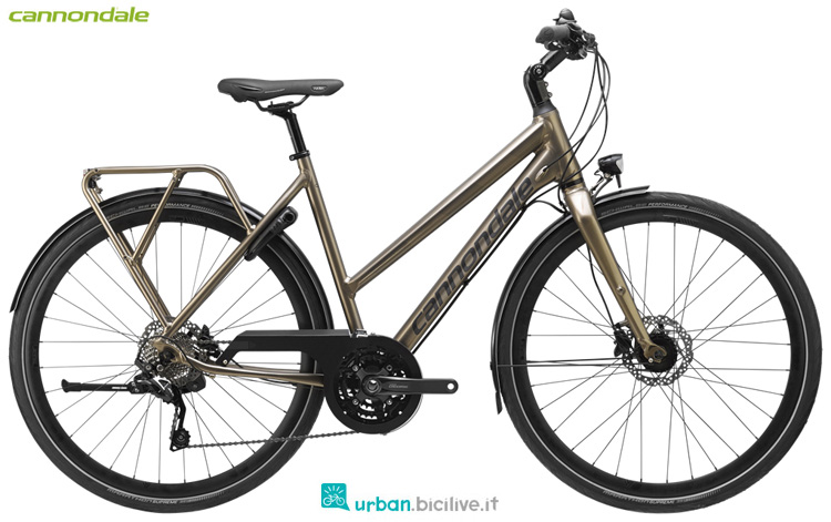 Una city bike Cannondale Tesoro Mixte 2 dal catalogo 2019