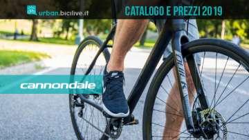 Le bici urban e fitness 2019 di Cannondale: catalogo e listino prezzi