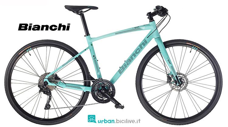 city bike Bianchi C-Sport 2.5 2019