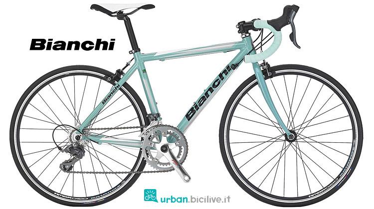 bici da corsa per ragazzi Bianchi 2019