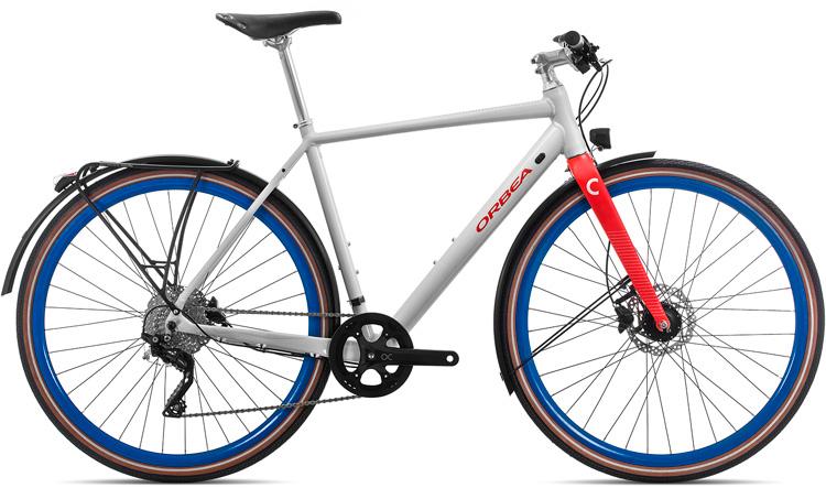 Una bici urban Orbea Carpe 10 anno 2019