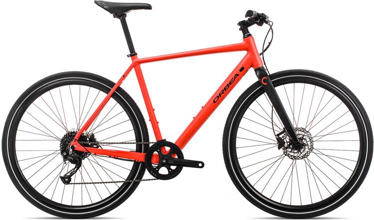 Una bici per uso cittadino Orbea Carpe 20