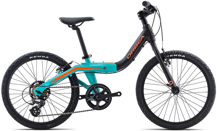 Una bici da bambino Orbea Grow 2 7V a 7 velocità