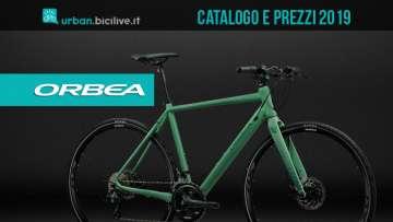 orbea-bici-urban-catalogo-listino-prezzi-2019
