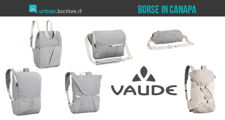 Vaude Lignum: borse e zaini ecosostenibili per ciclisti urbani