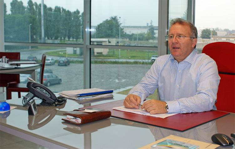 Ivo Prussiani, Amministratore Delegato di RMS