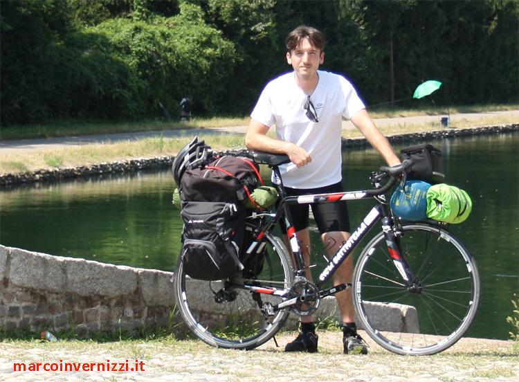 Marco Invernizzi il ciclista che ha girato il mondo