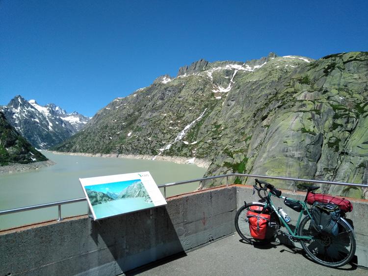 Il Passo del Grimsel e la bicicletta di Luigi