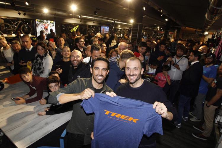 Ivan Basso Trek Concept Store Cycle'n'Cycle