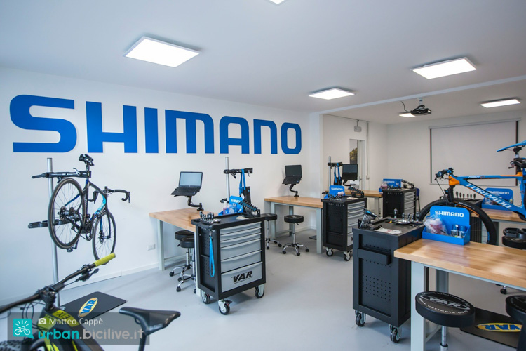 Il Tech Lab Training Center per meccanici di Shimano