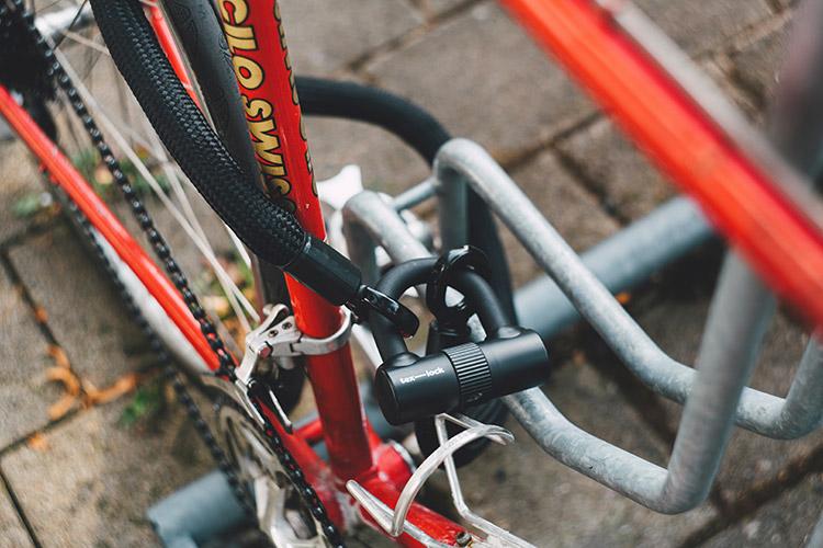 Lucchetto contro i ladri di Biciclette