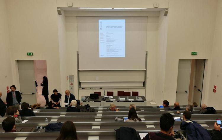 Aula università Bocconi di Milano