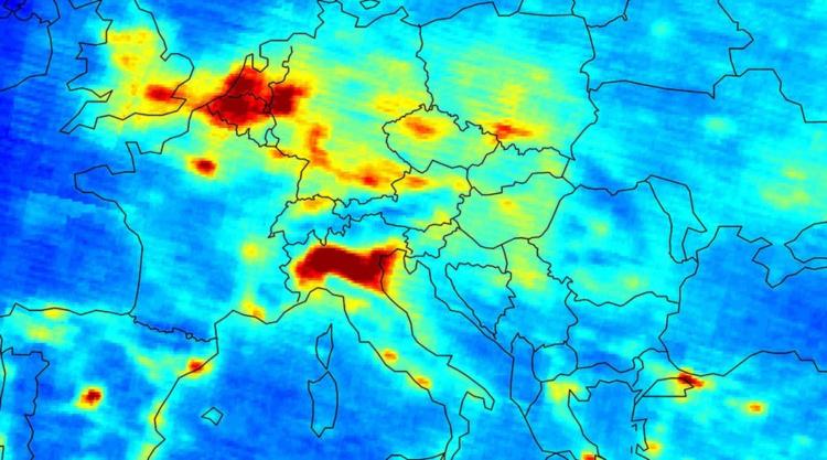 pianura padana smog inquinamento atmosferico