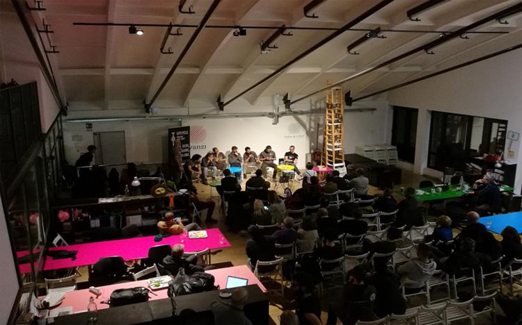 Presentazione 20K Ultratrail da Upcycle Milano Bike Café