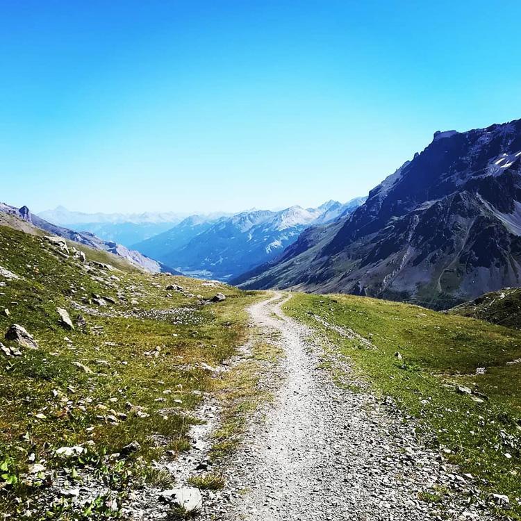 Uno scorcio del percorso di 20k Ultra Trail nella foto di Jari Ghidone