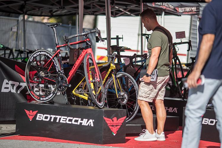 stand e presentazione nuove bici nel Italian bike festival