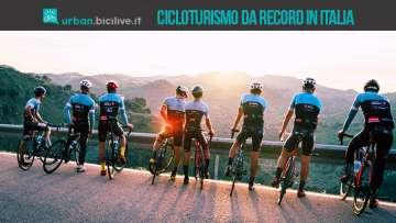 Cicloturismo: un 2018 da record per l'Italia