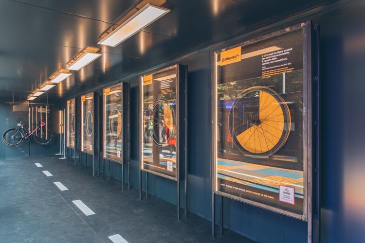 foto dell'installazione di continental a Milano