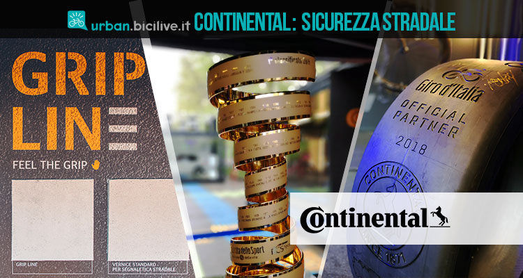 Continental, il Giro d'Italia e la sicurezza dei ciclisti
