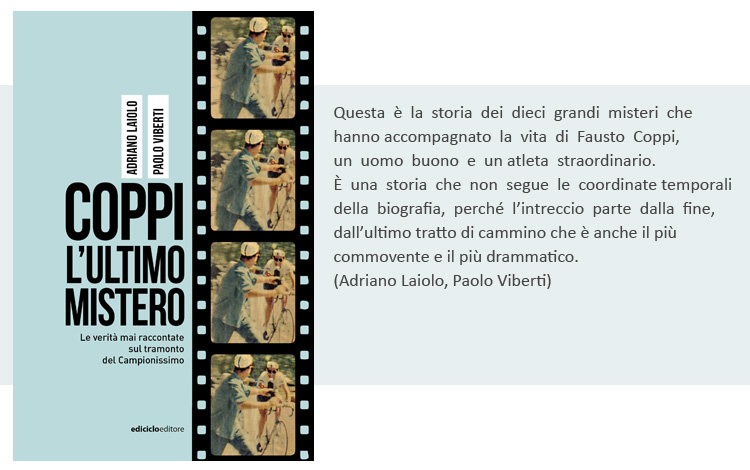 La copertina del libro Coppi, l'ultimo mistero