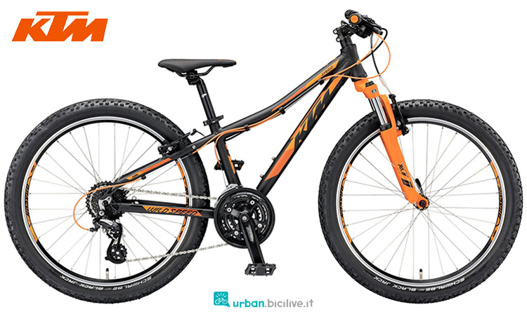 ktm wild speed 24.24 2019 bicicletta
