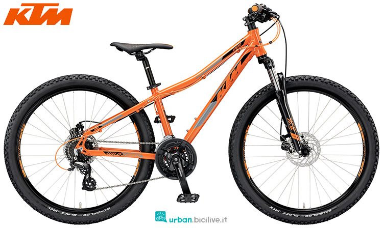 ktm wild speed 26.24 disc m 2019 bicicletta